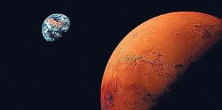 Mars vs earth - Mars Facts For Kids
