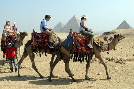 Tourism industry of Egypt - Egypt facts for kids