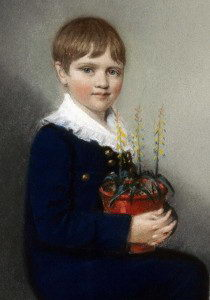 Charles Darwin as a small boy - Charles Darwin Facts For Kids