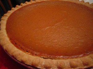 Pumpkin pie - Pumpkin Facts For Kids