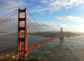 San Francisco - Golden Gate Bridge Facts For Kids