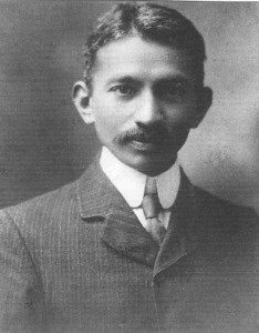 Young Gandhi in South Africa - Gandhi Facts For Kids