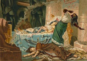 Death of Cleopatra - Cleopatra Facts For Kids