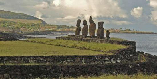 Ahu Tahai - easter island facts for kids