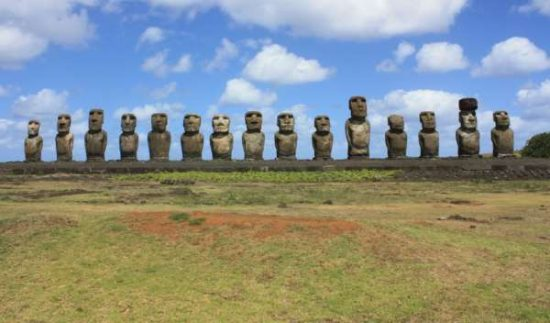 Ahu Tongariki - easter island facts for kids