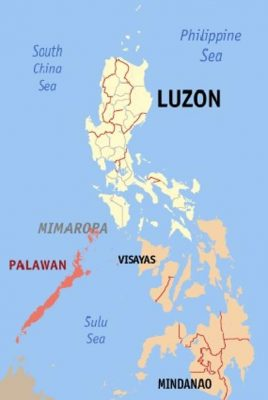 Location of Philippines - Philippines facts for kids