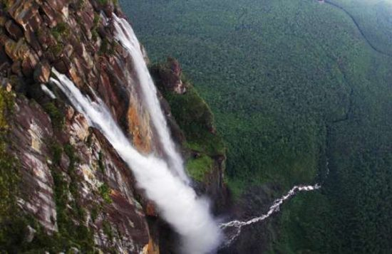 Tepui from top - Angel falls facts for kids