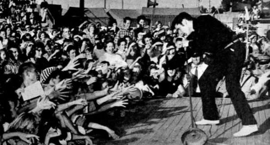 Elvis in live performances