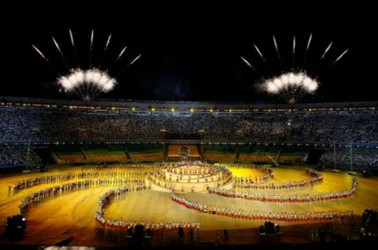 Maracanã Stadium - Opening ceremony of 2007 Pan American Games