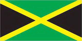 Jamaica Flag - Jamaica Facts for Kids